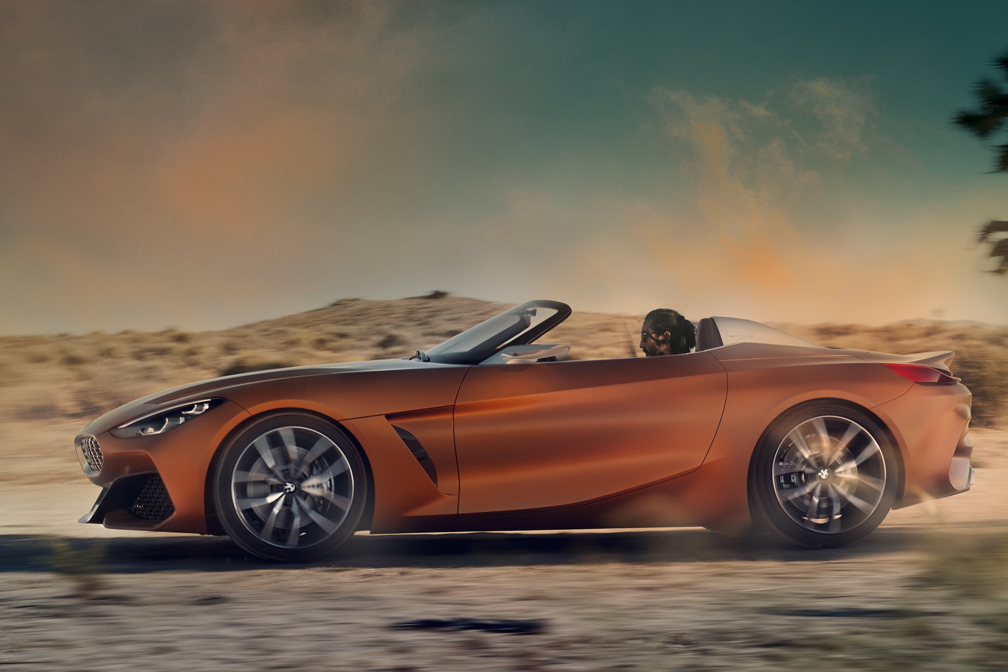BMW Concept Z4 breaks cover before debut at Pebble Beach