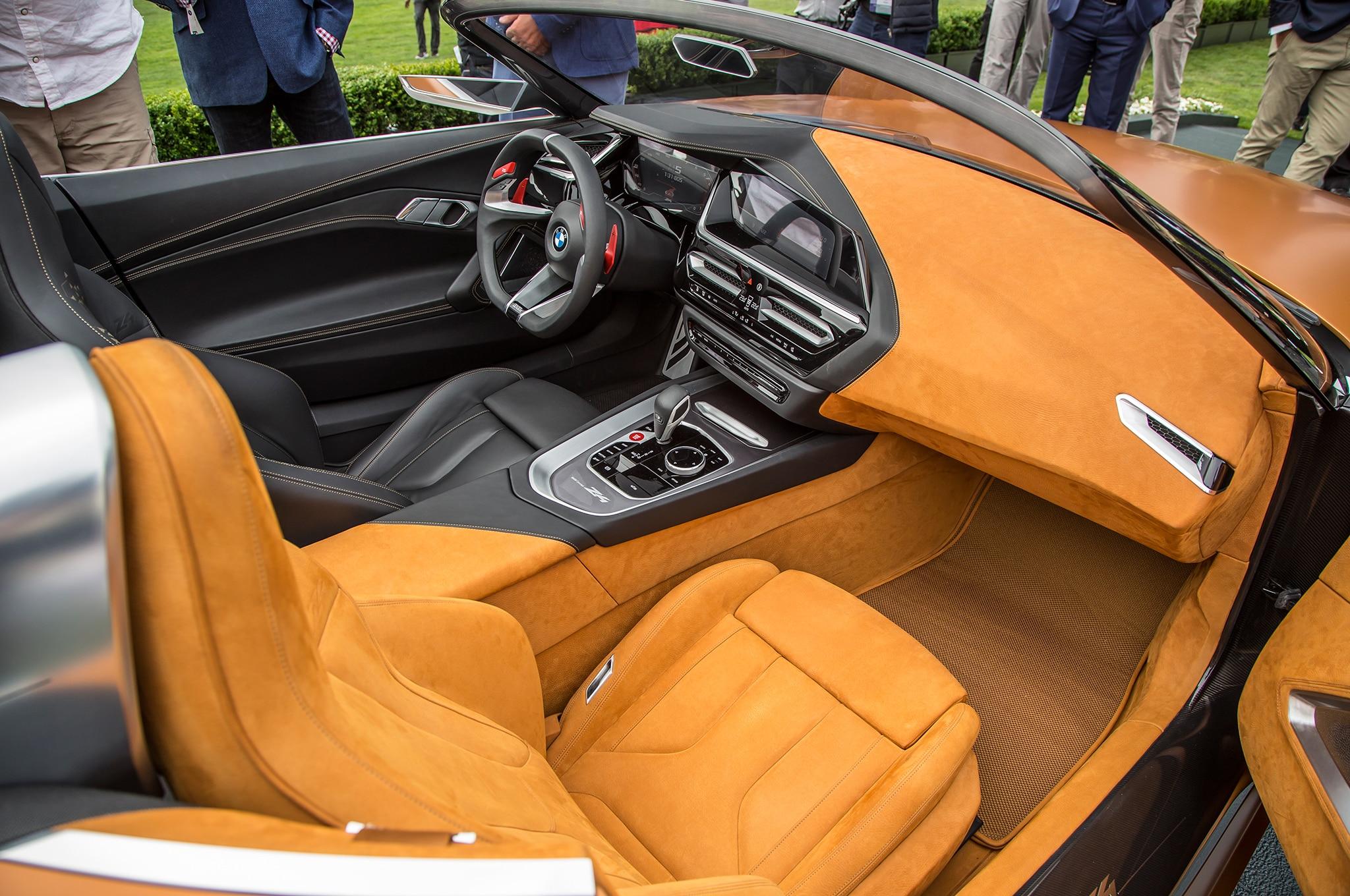 Hello Beautiful Bmw Concept Z4 Unveiled In Monterey Automobile Magazine