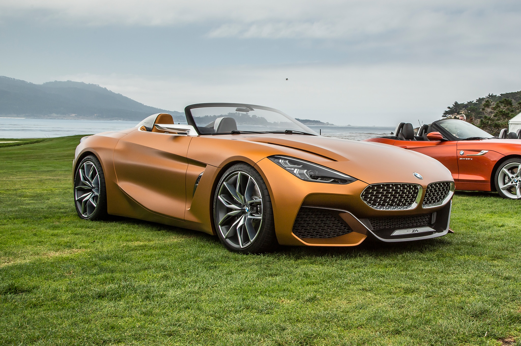 hello beautiful bmw concept z4 unveiled in monterey automobile magazine. Black Bedroom Furniture Sets. Home Design Ideas