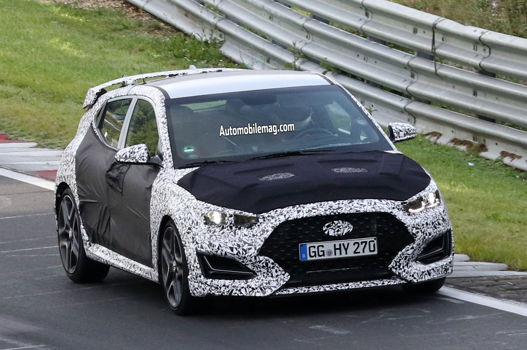 Hyundai Veloster N Sheds Camo At The Ring Automobile