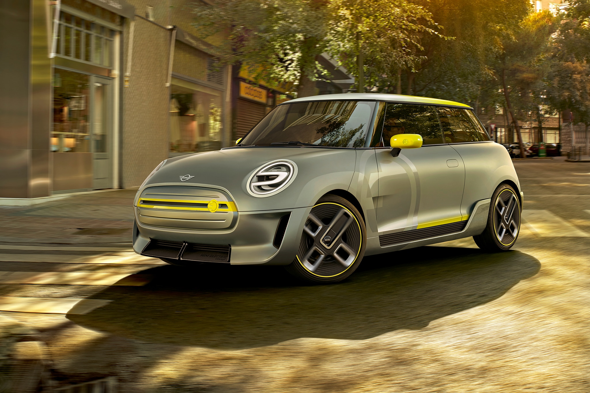 Mini Electric Concept Front Three Quarters
