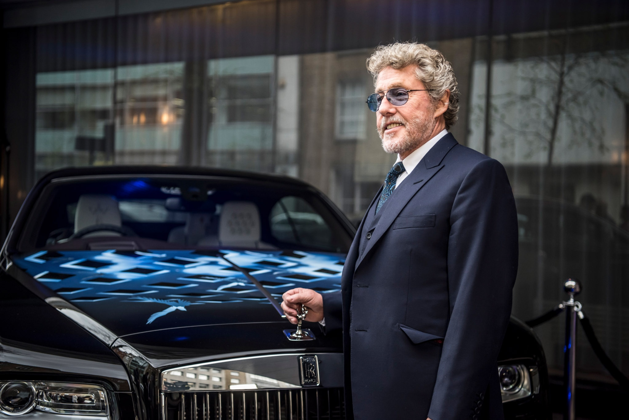 The Cars Drive Lyrics: Who Knew? Roger Daltrey And Rolls-Royce Donate A Wraith