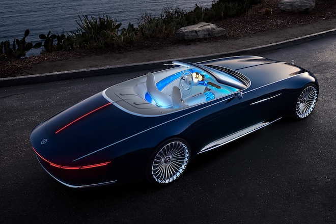 vision mercedes maybach 6 cabriolet wows pebble beach crowd automobile magazine. Black Bedroom Furniture Sets. Home Design Ideas