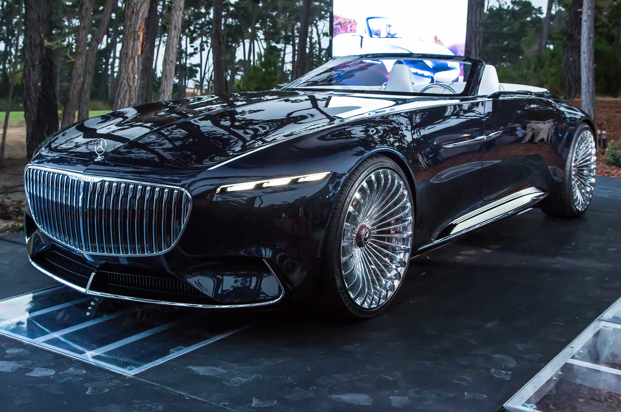 Vision Mercedes Maybach 6 Cabriolet Front Three Quarter 02