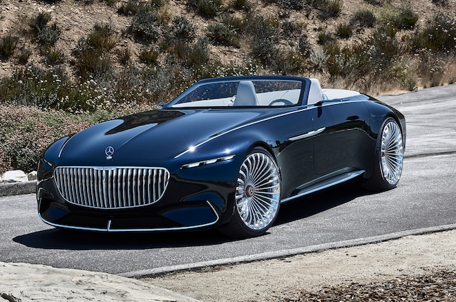 Vision mercedes maybach 6 cabriolet wows pebble beach for Mercedes benz vision statement