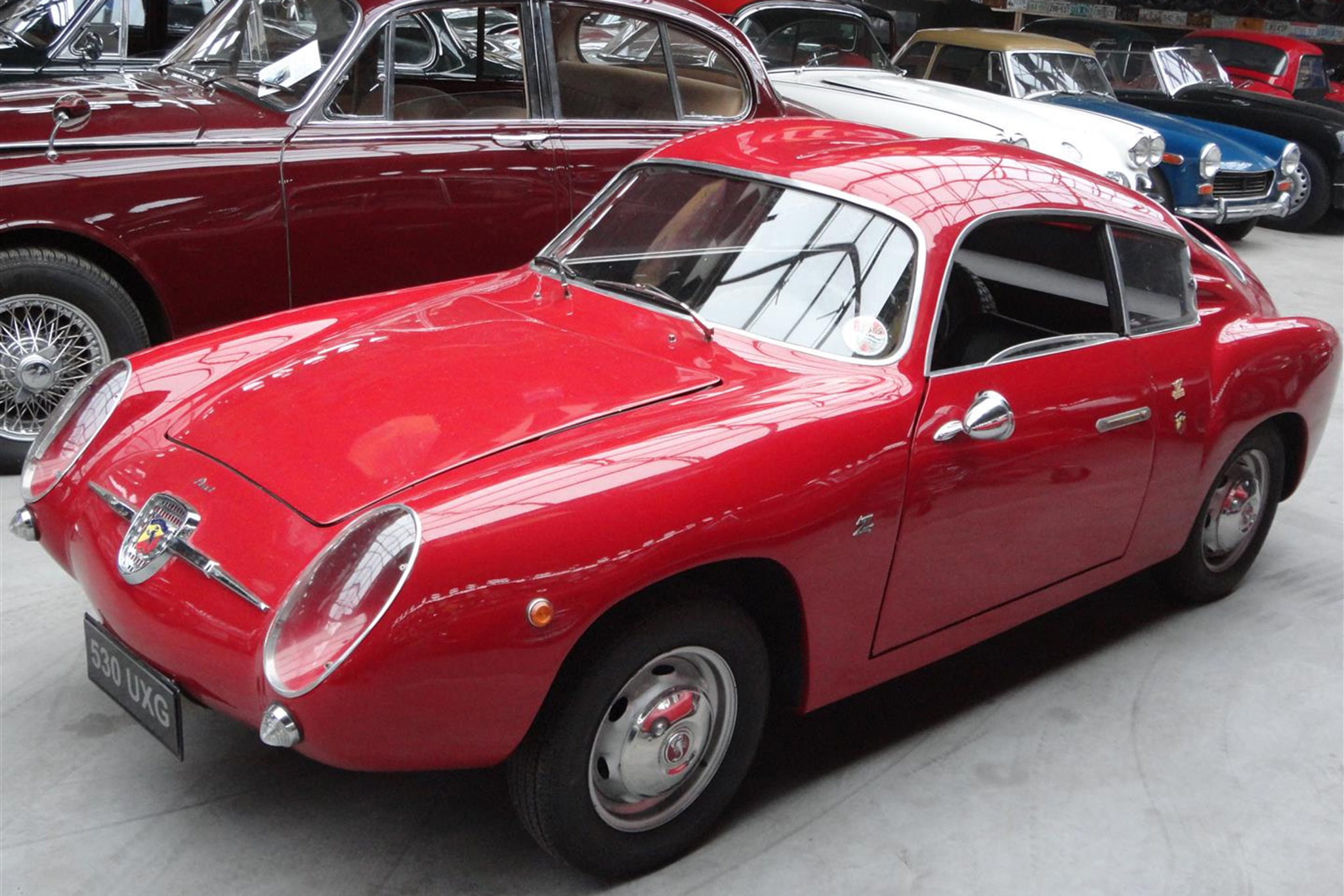 1957 Fiat Abarth 750 Zagato Just Listed Front Three Quarters
