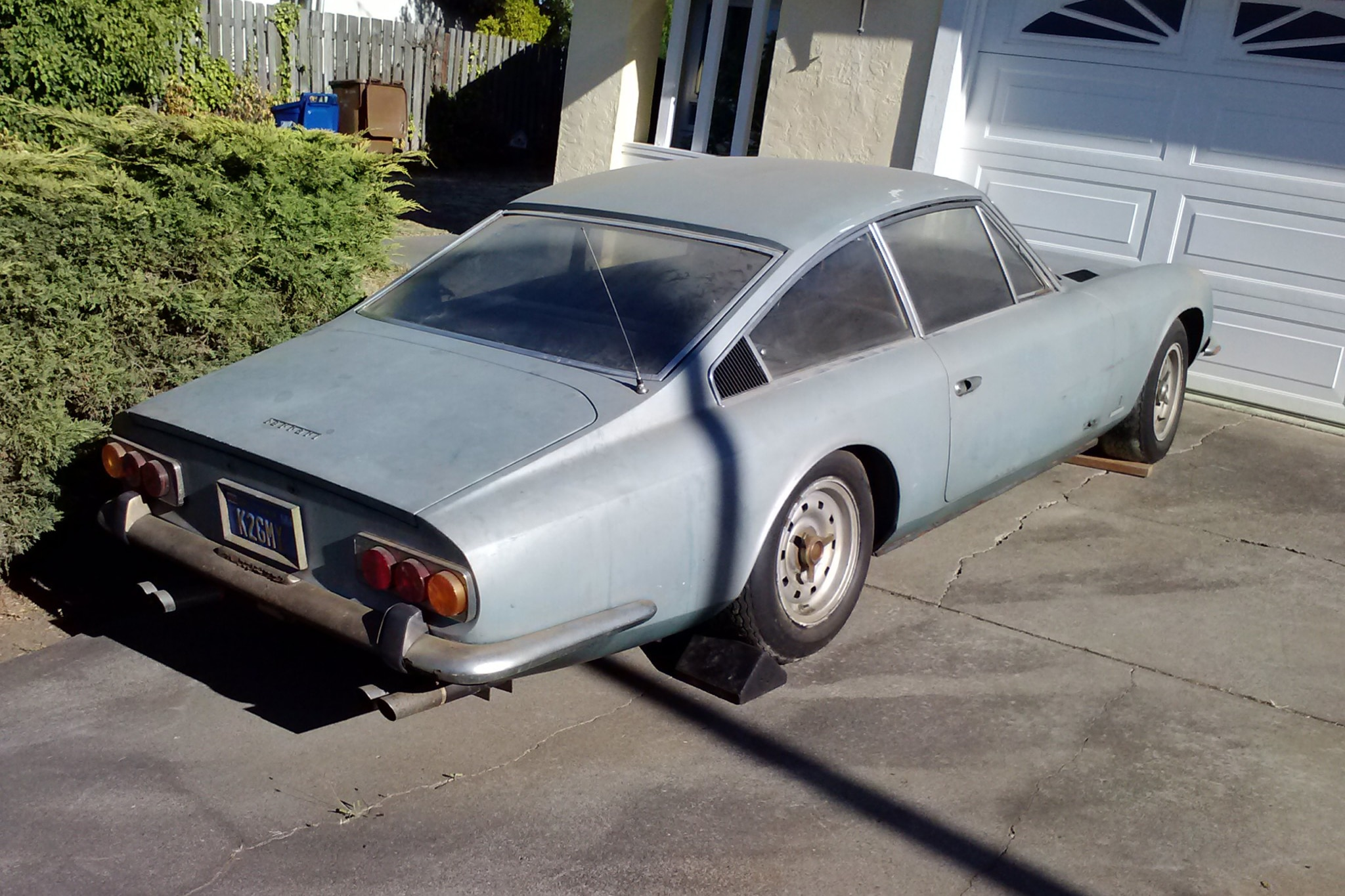 Just listed barn find 1969 ferrari 365 gt 22 automobile magazine however vanachro Image collections