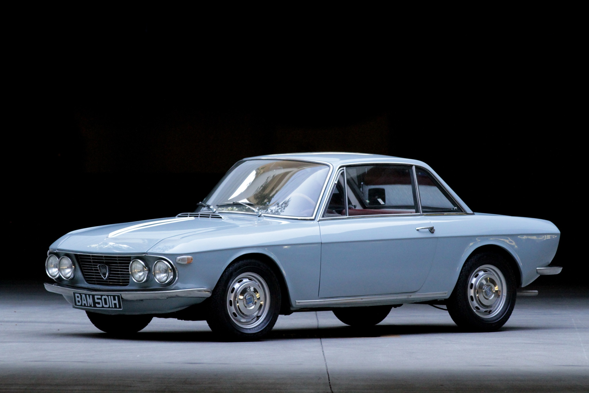 1970 Lancia Fulvia Just Listed Front Three Quarters