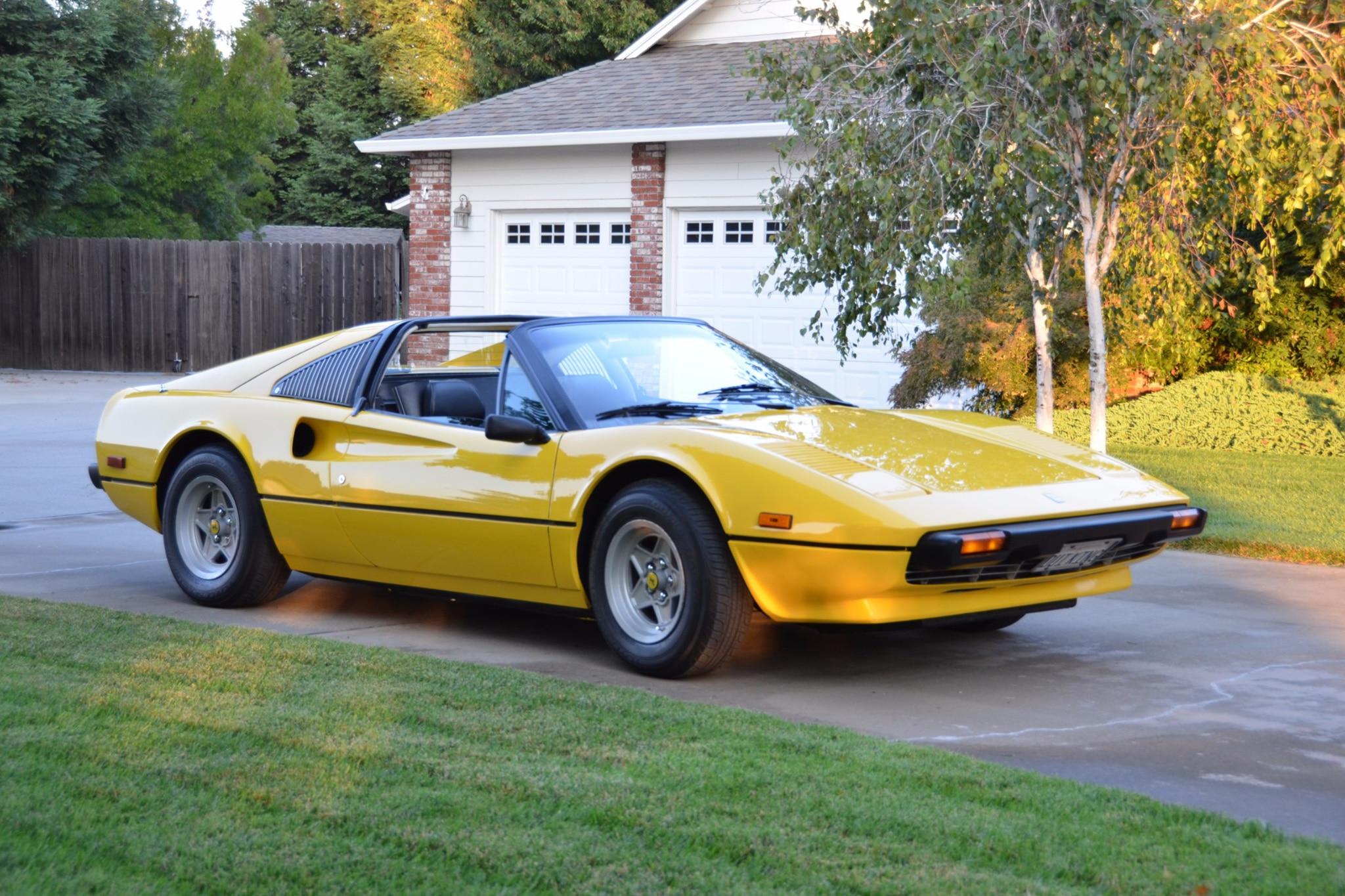 1978 Ferrari 308 GTS Just Listed Front Three Quarters
