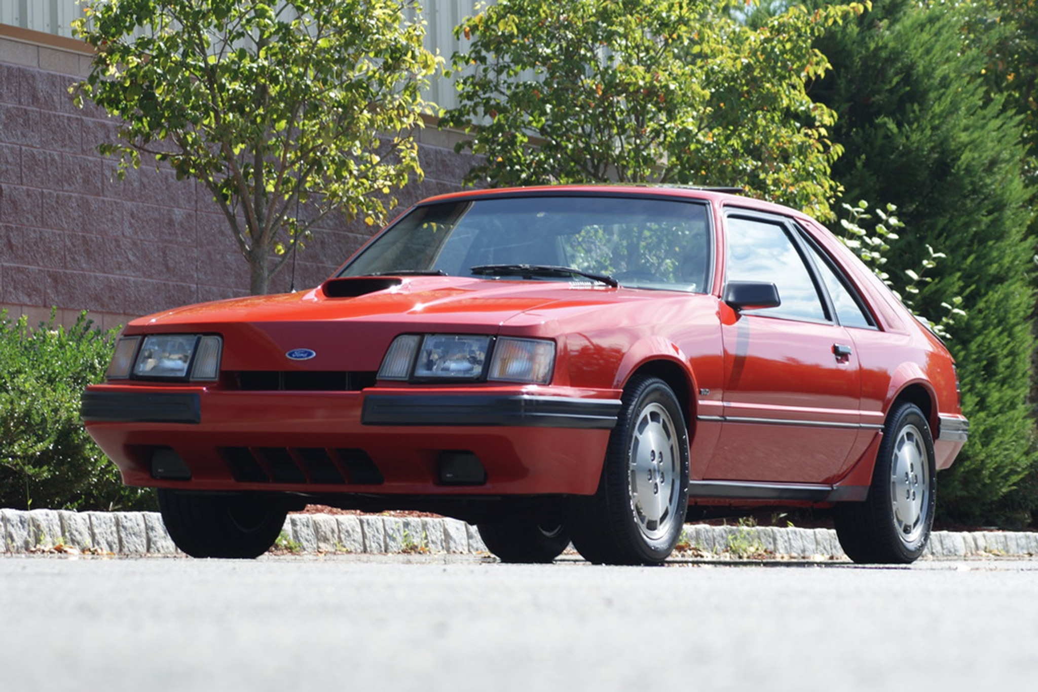 1986 Ford Mustang SVO Just Listed Front Three Quarters