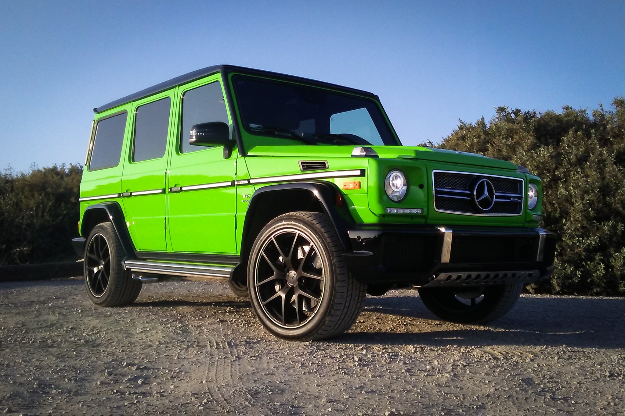 2017 Mercedes AMG G65 Front Three Quarter 04