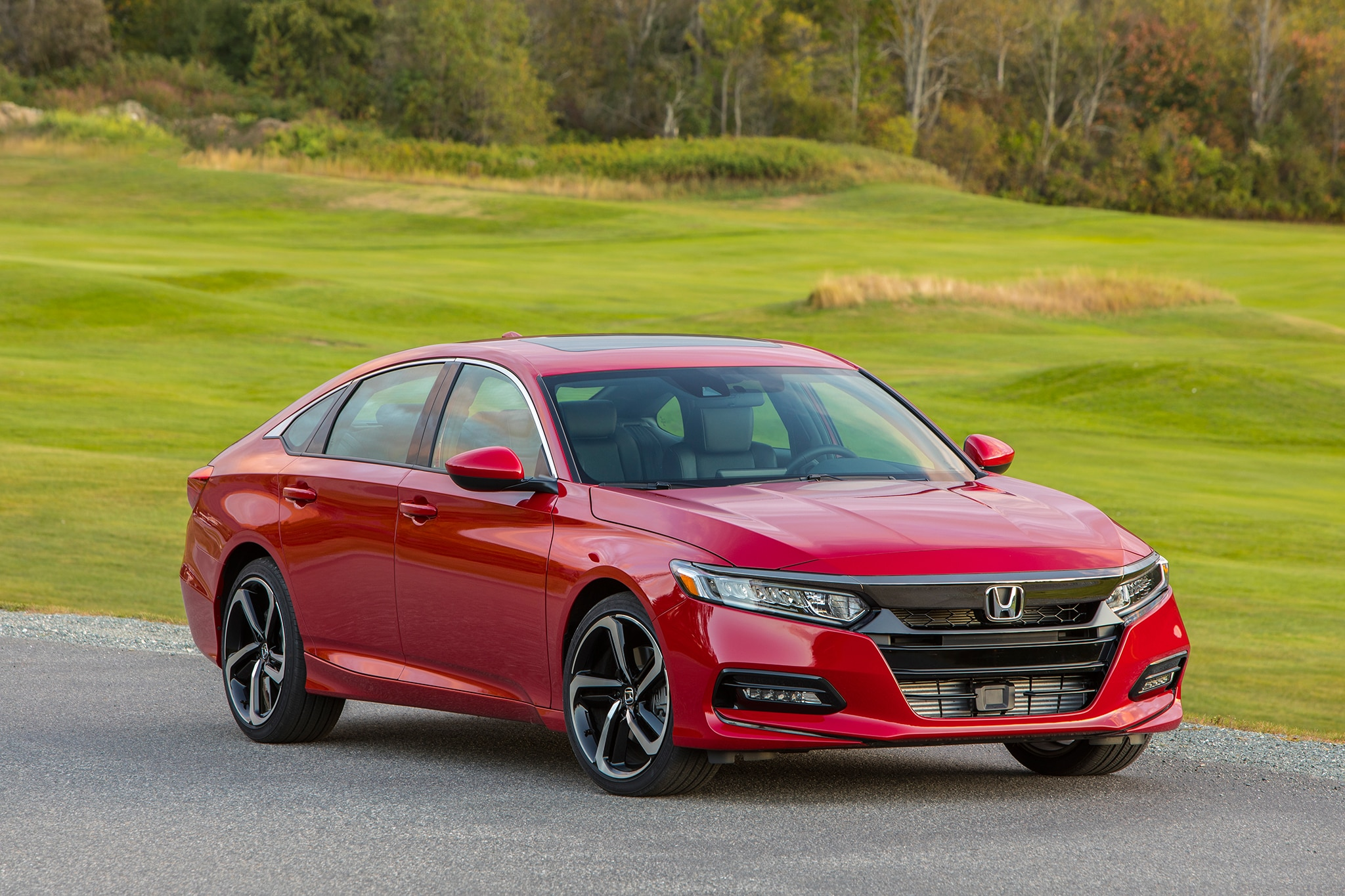 First drive 2018 honda accord automobile magazine for Honda accord shuts off while driving