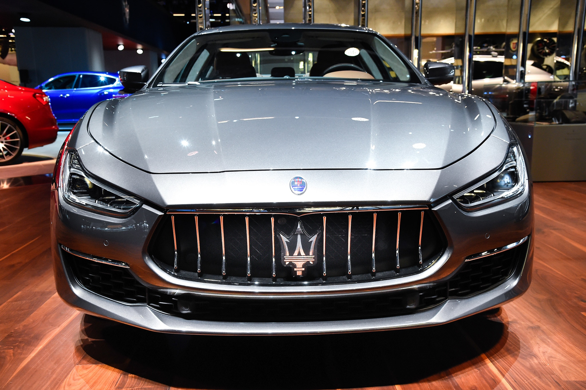 maserati refreshes ghibli for 2018 with new face updated powertrain automobile magazine. Black Bedroom Furniture Sets. Home Design Ideas
