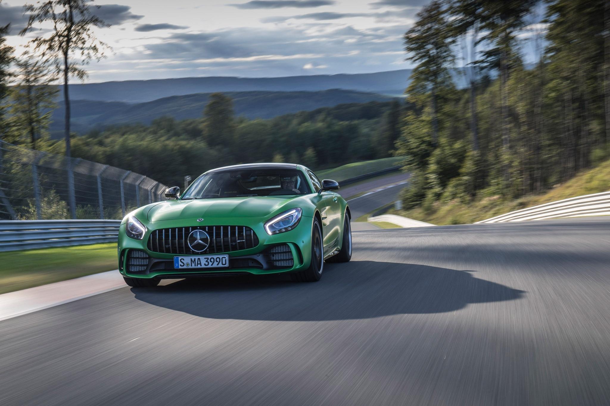 2018 Mercedes AMG GT R Todd Lassa Front