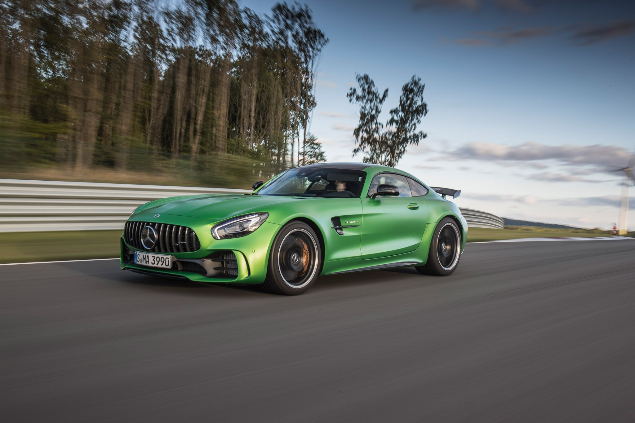 2018 Mercedes AMG GT R Todd Lassa Track