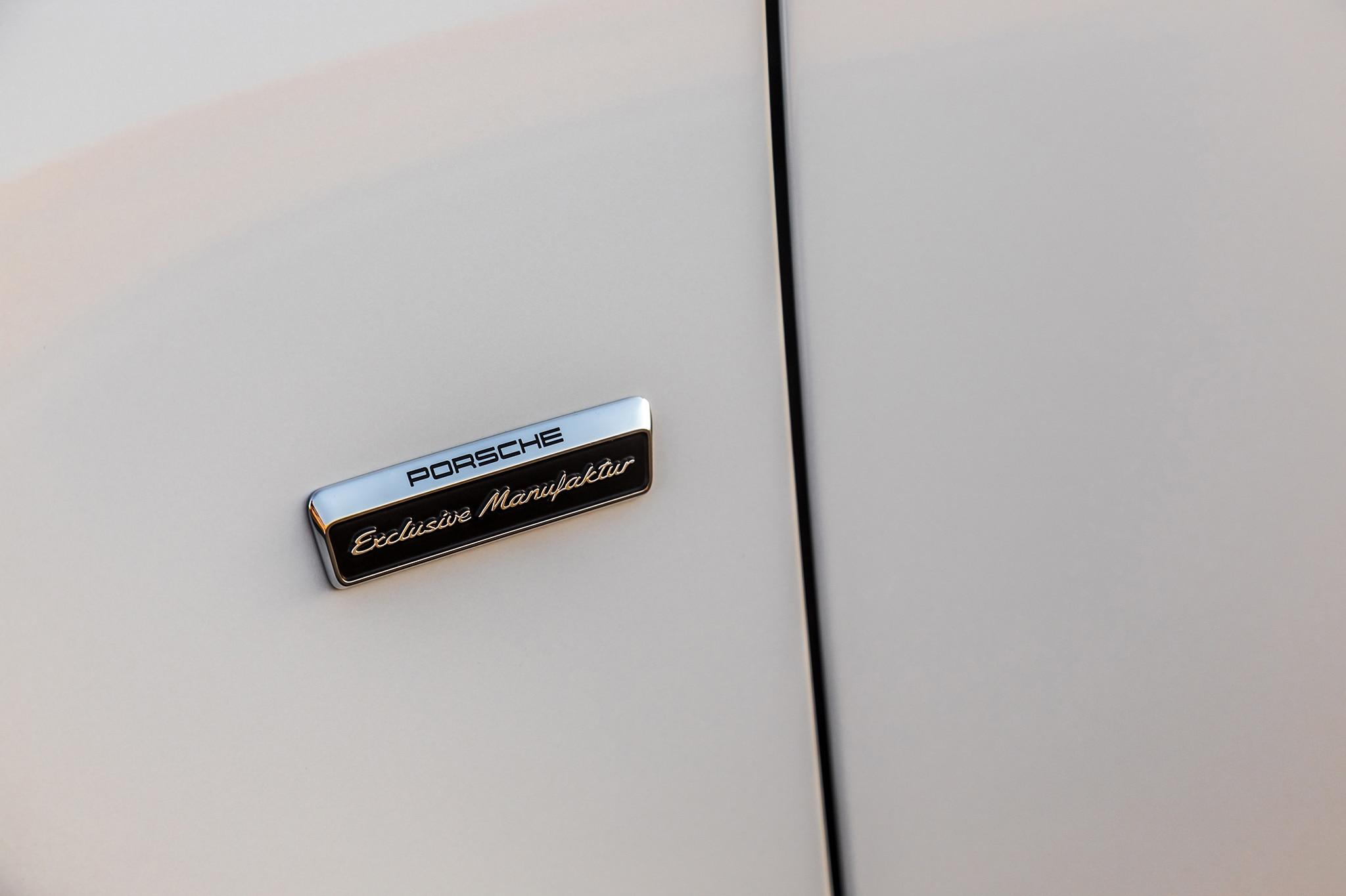2018 Porsche 911 Turbo S Exclusive Badge