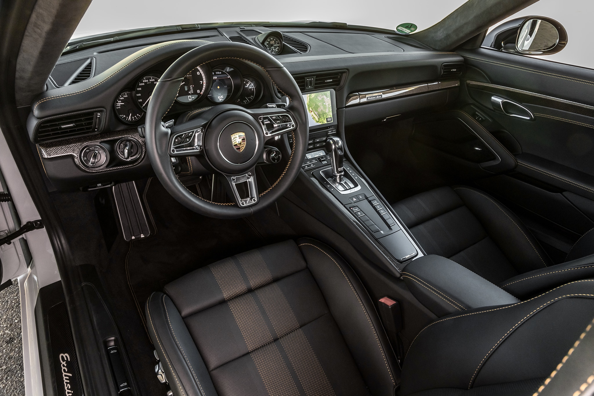 2018 Porsche 911 Turbo S Exclusive Cabin 01
