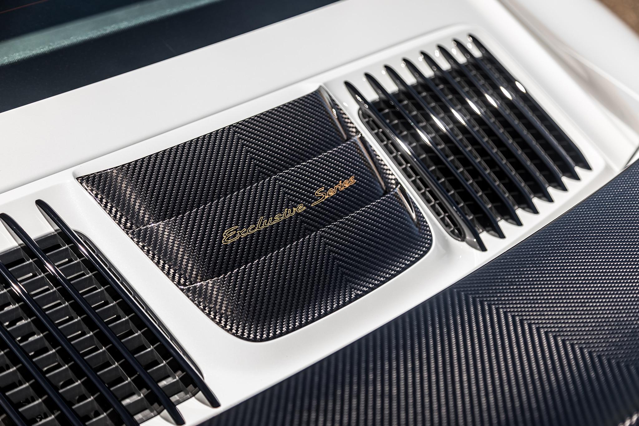 2018 Porsche 911 Turbo S Exclusive Engine Vent 01