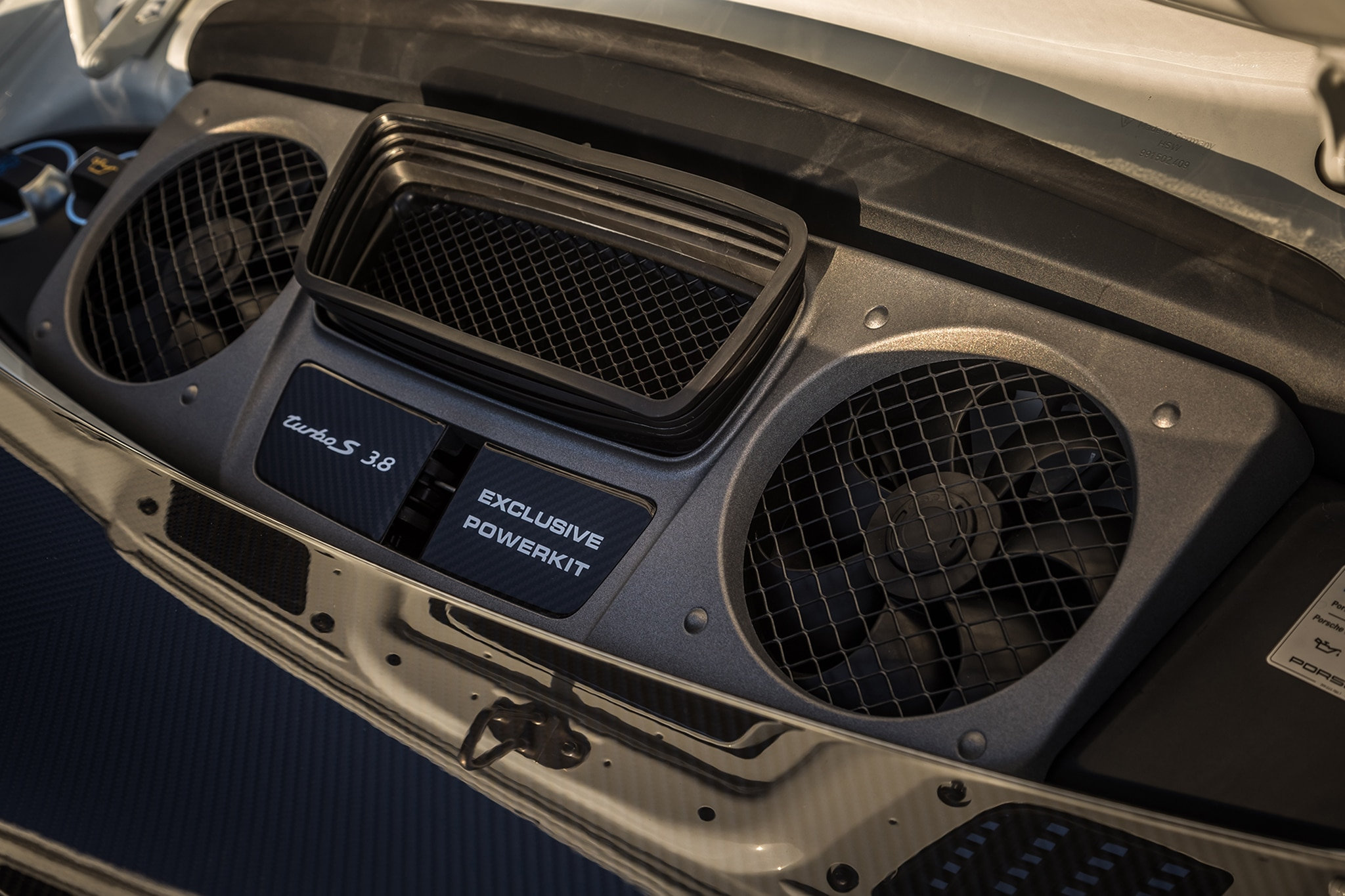 2018 Porsche 911 Turbo S Exclusive Engine