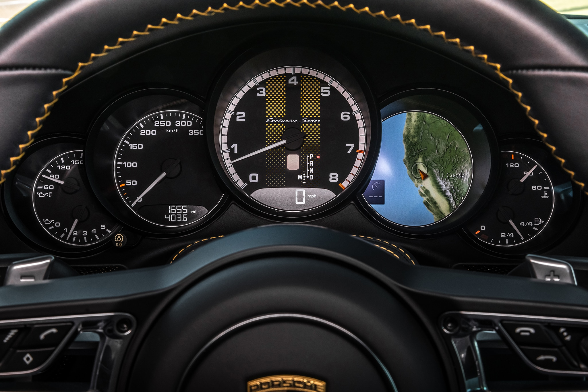 2018 Porsche 911 Turbo S Exclusive Intstrument Panel