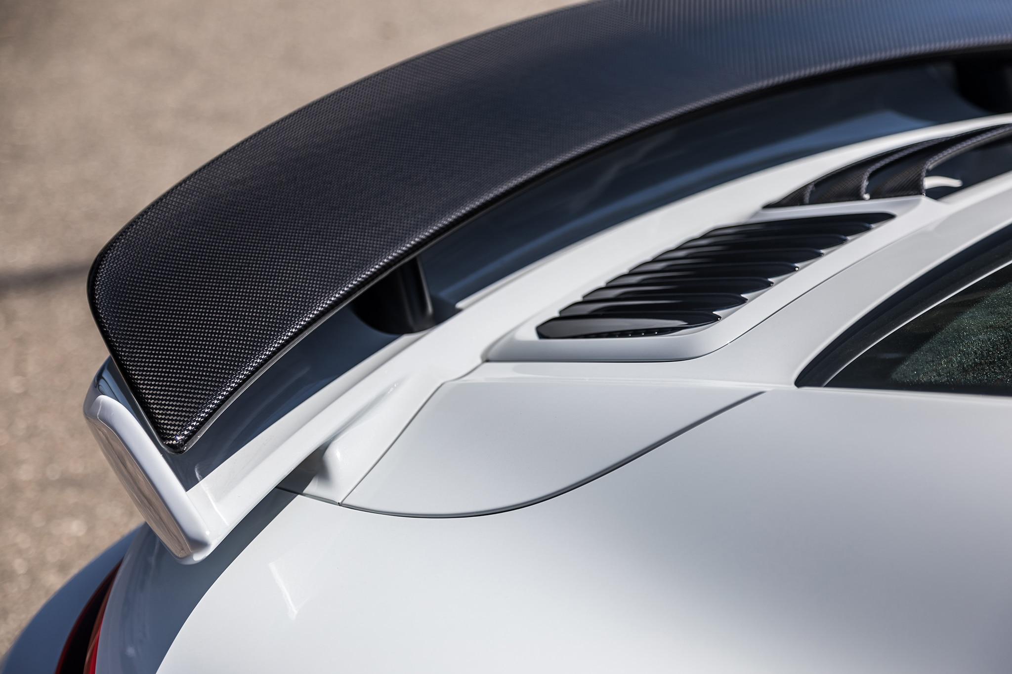 2018 Porsche 911 Turbo S Exclusive Rear Spoiler 02
