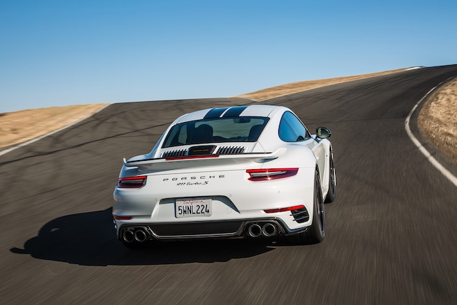 first laps 2018 porsche 911 turbo s exclusive series automobile magazine. Black Bedroom Furniture Sets. Home Design Ideas