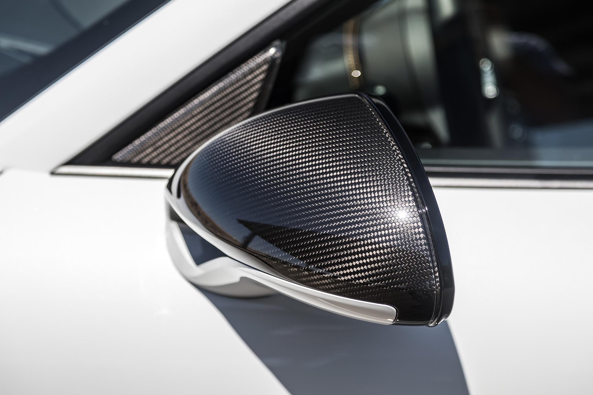 2018 Porsche 911 Turbo S Exclusive Side Mirror 01