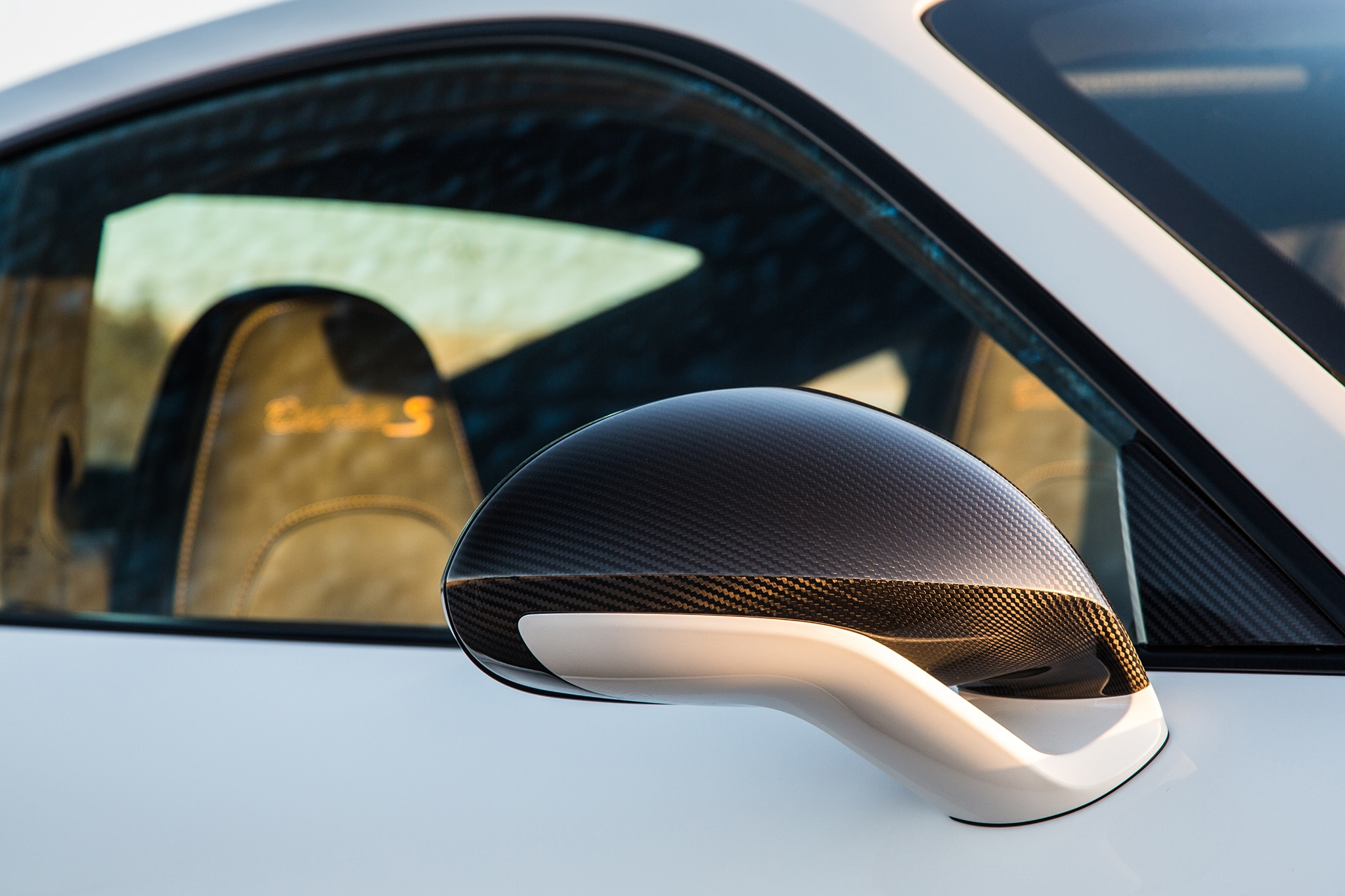 2018 Porsche 911 Turbo S Exclusive Side Mirror 02