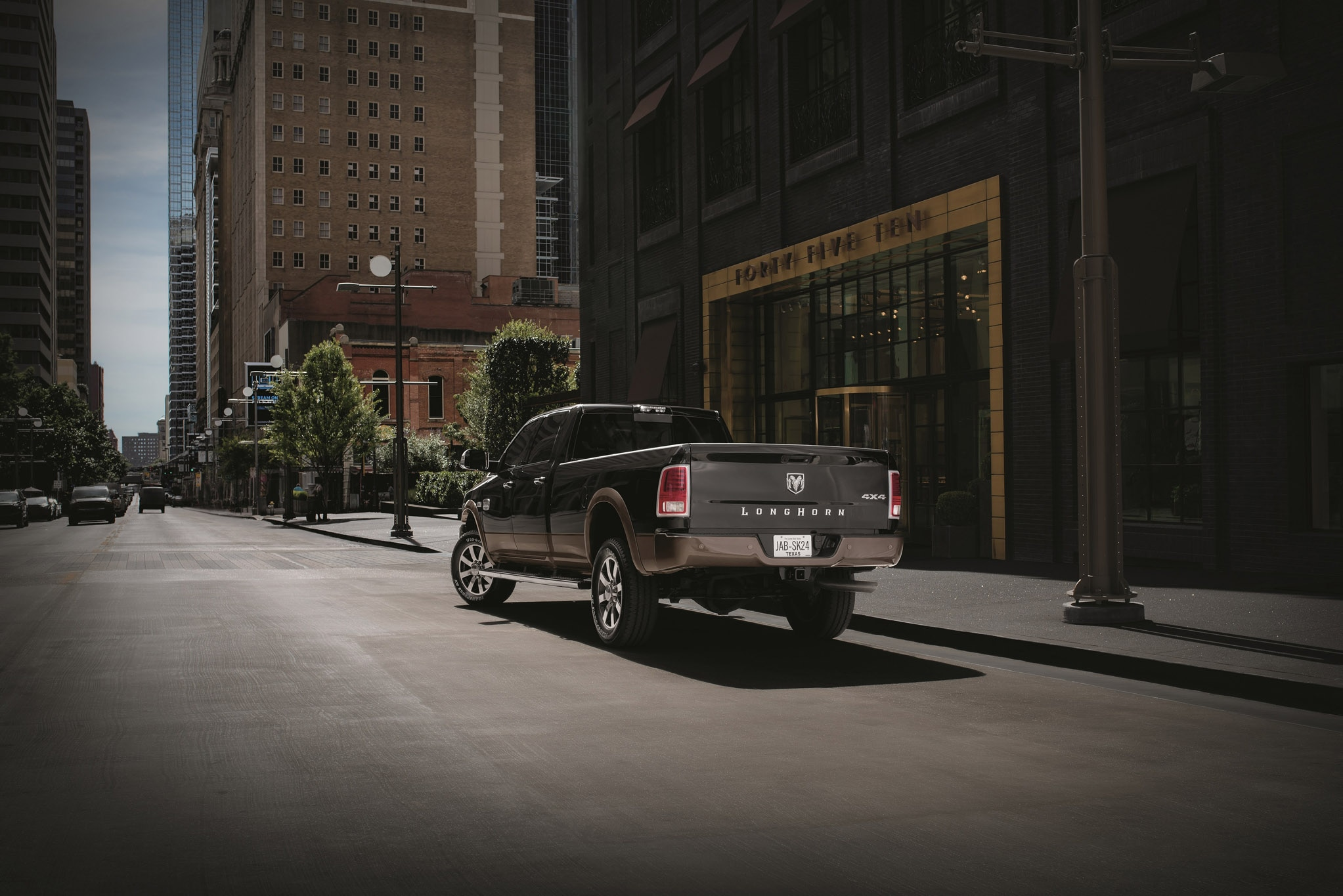 Ram Shows Off Laramie Longhorn Southfork and Lone Star Silver Edition