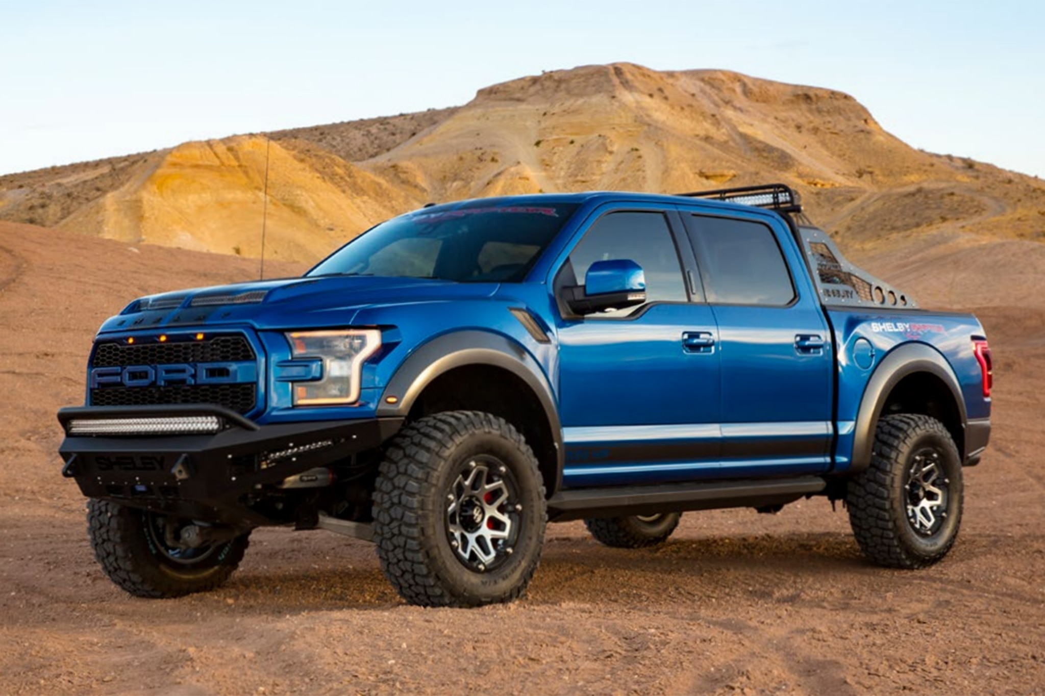 2018 shelby raptor can be yours for 117 460 automobile magazine. Black Bedroom Furniture Sets. Home Design Ideas