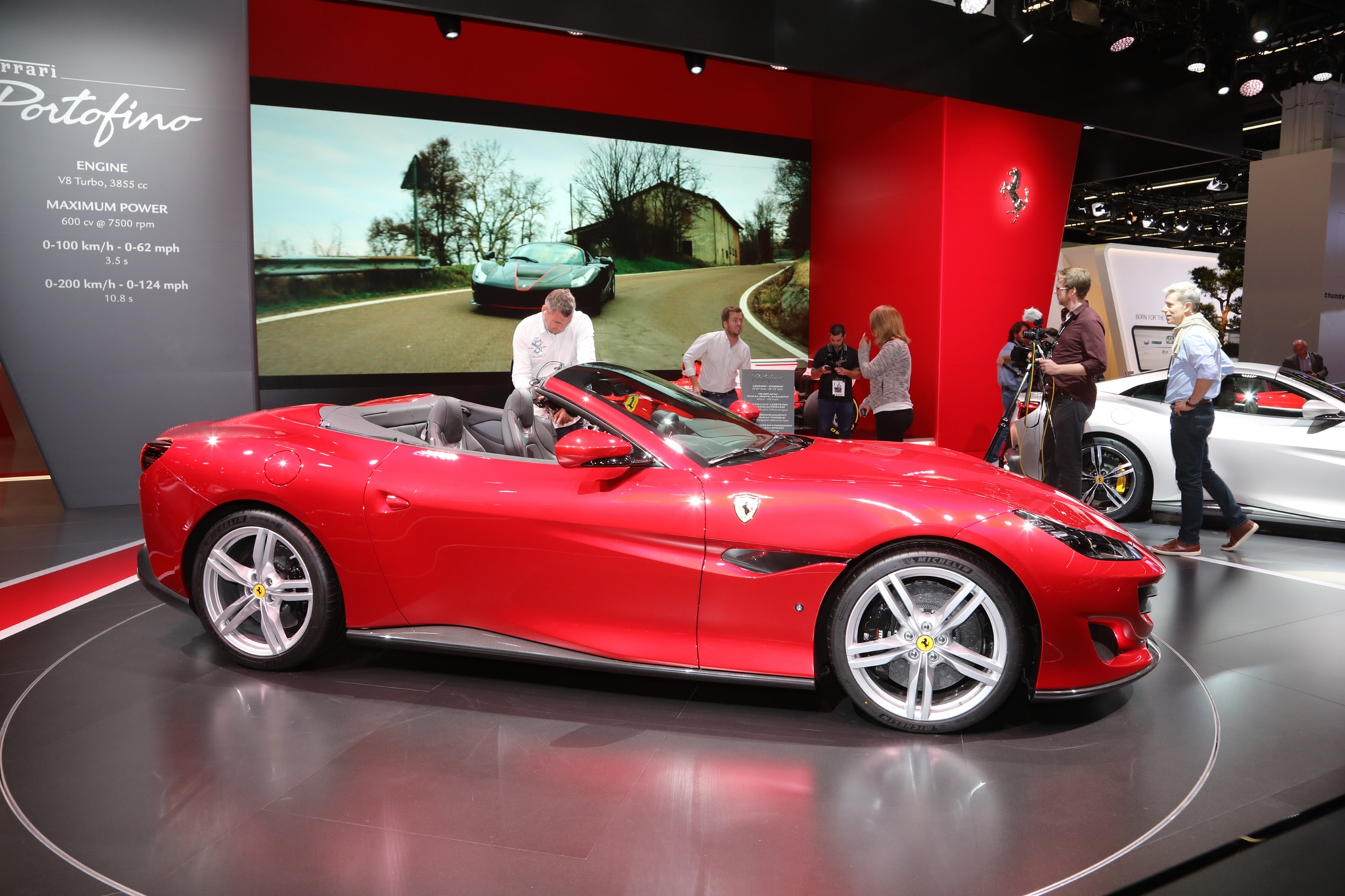 2018 ferrari lineup. contemporary lineup 2018 ferrari portofino looks sharp in frankfurt and ferrari lineup u