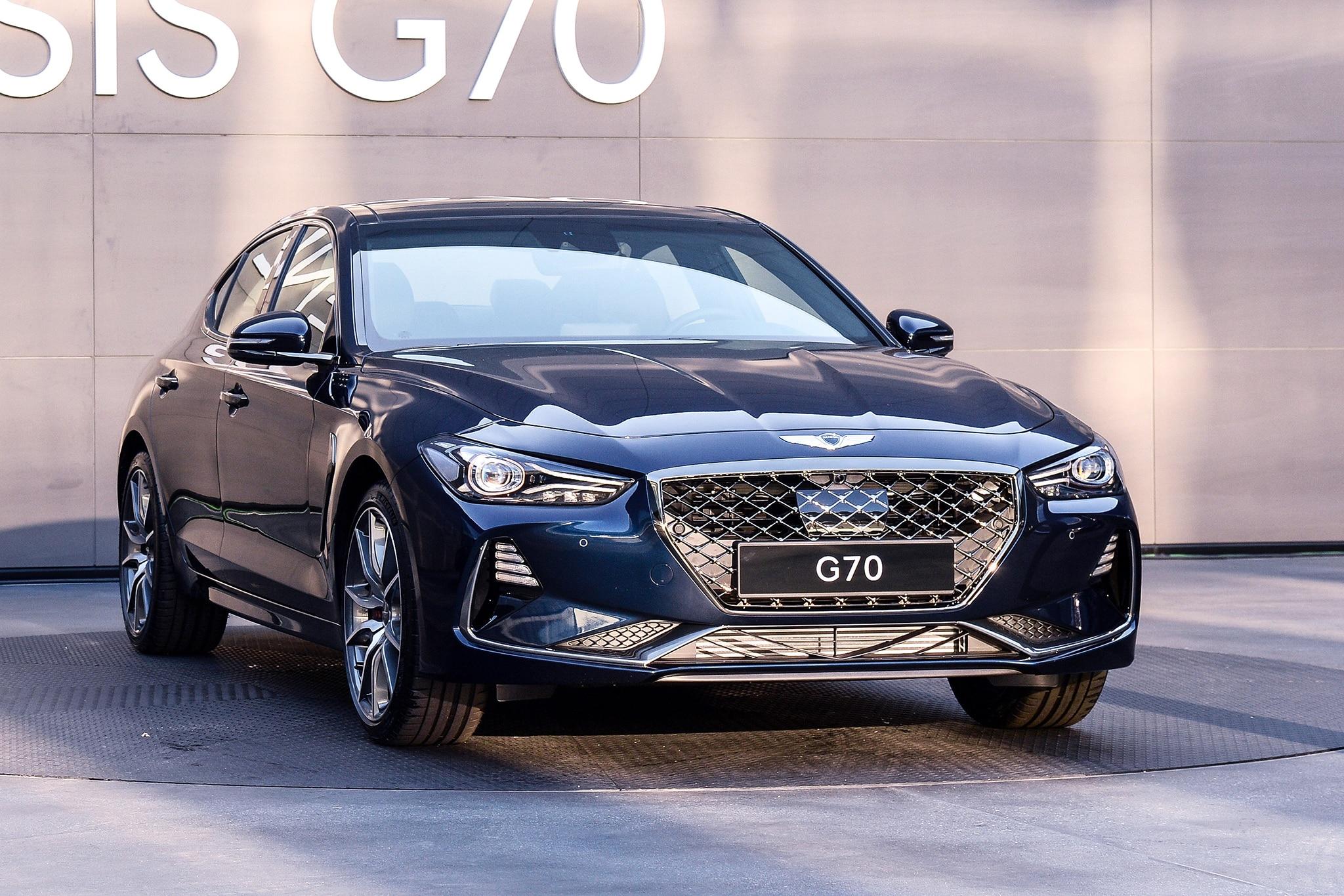 First Drive 2019 Genesis G70 Automobile Magazine