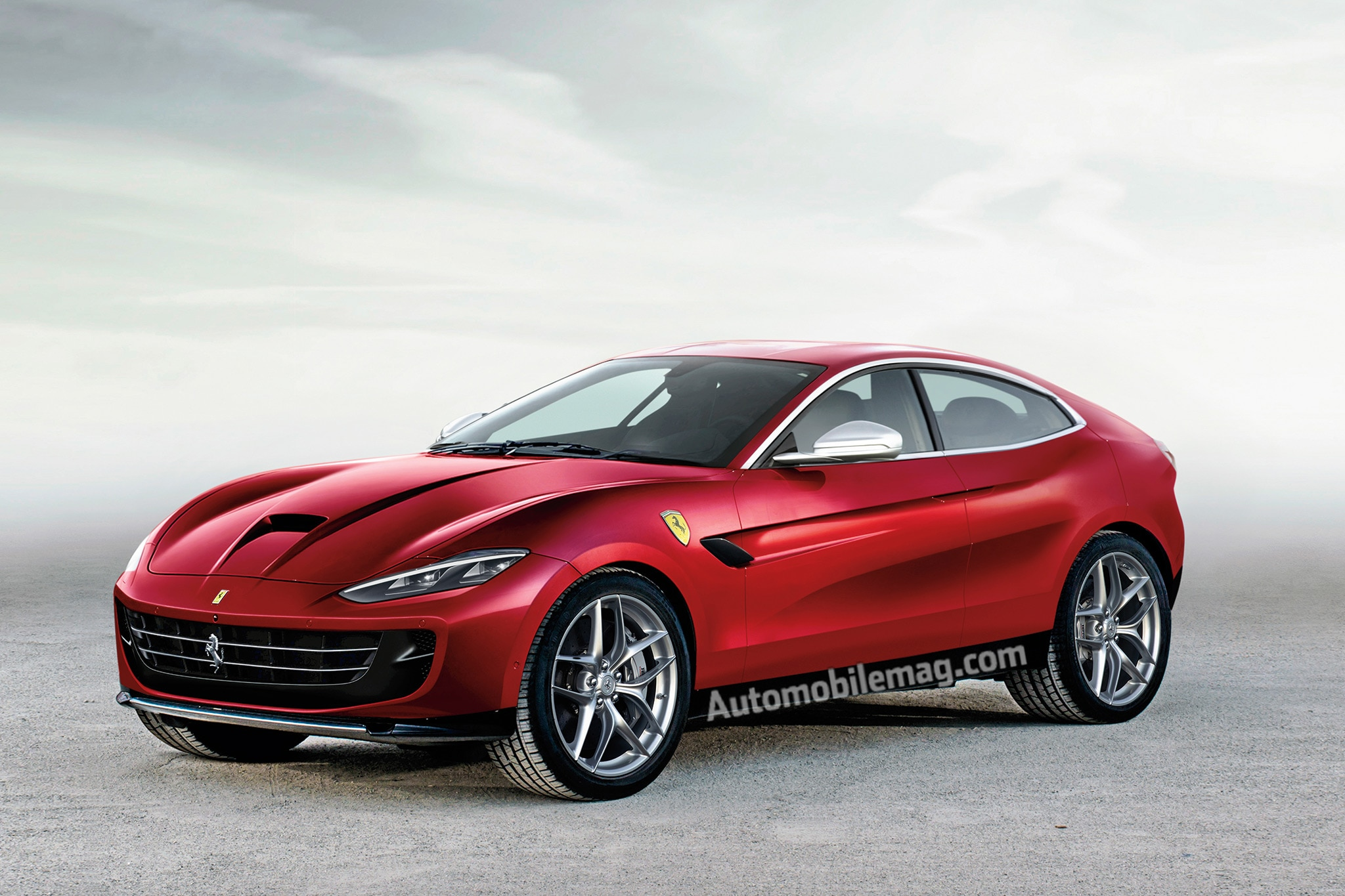 2021 Ferrari F16X SUV Illustration