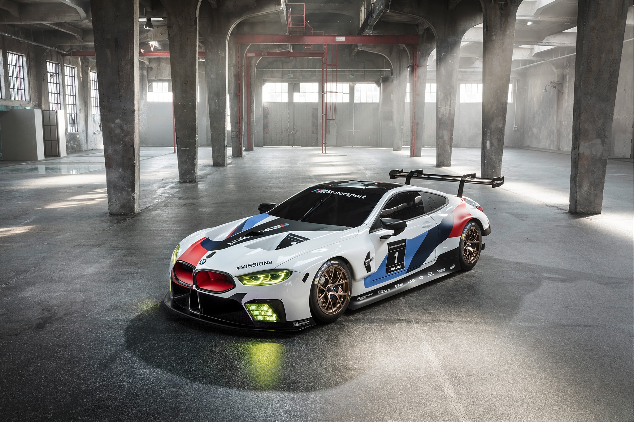 BMW M8 GTE Race Car 05