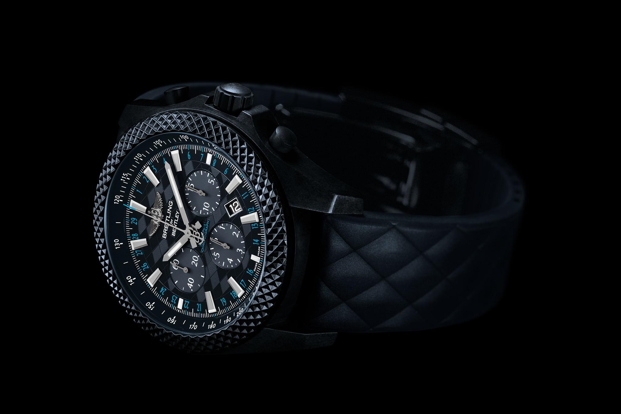 Breitling Bentley GT Dark Sapphire Edition Front Side