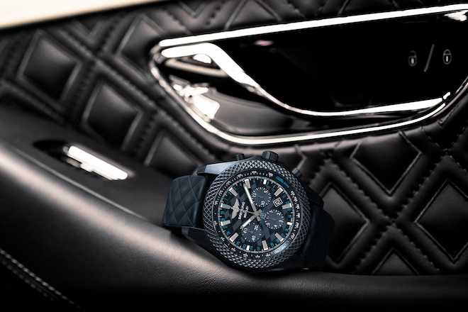 New Breitling For Bentley GT Dark Sapphire Edition