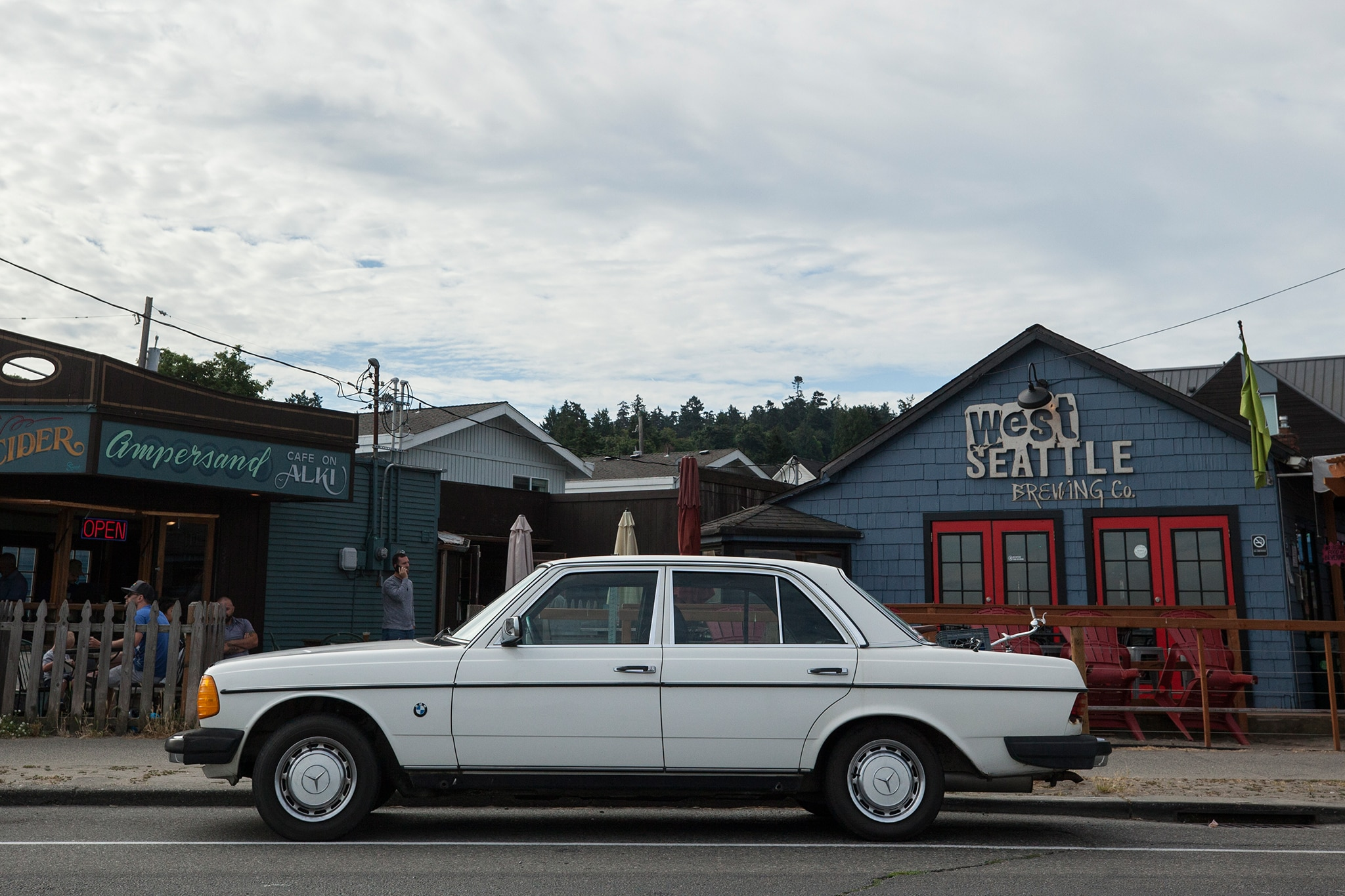 Coast To Coast In A 1977 Mercedes Benz 230 01