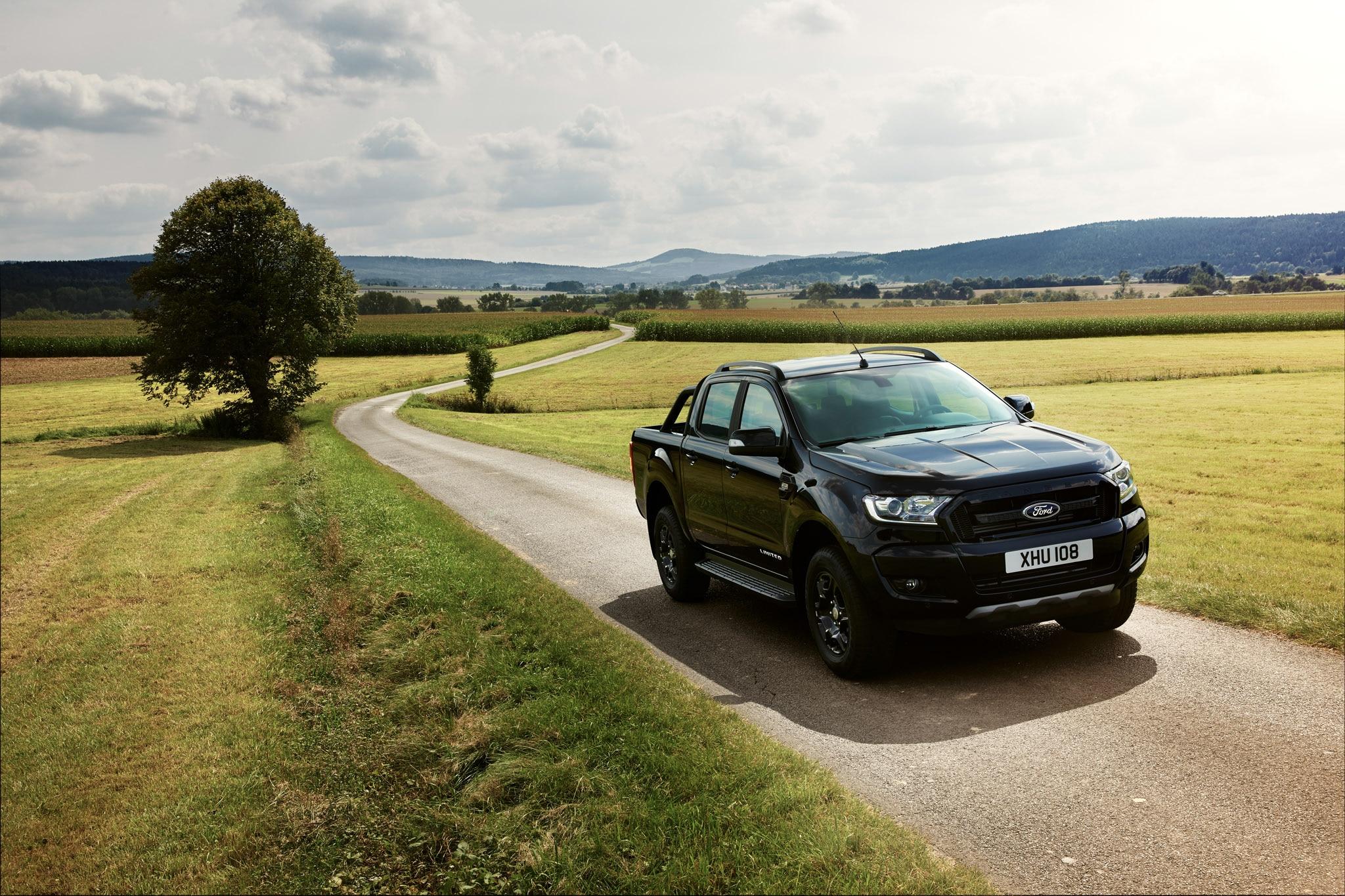 Ford Ranger Black Edition To Debut At 2017 Frankfurt Motor