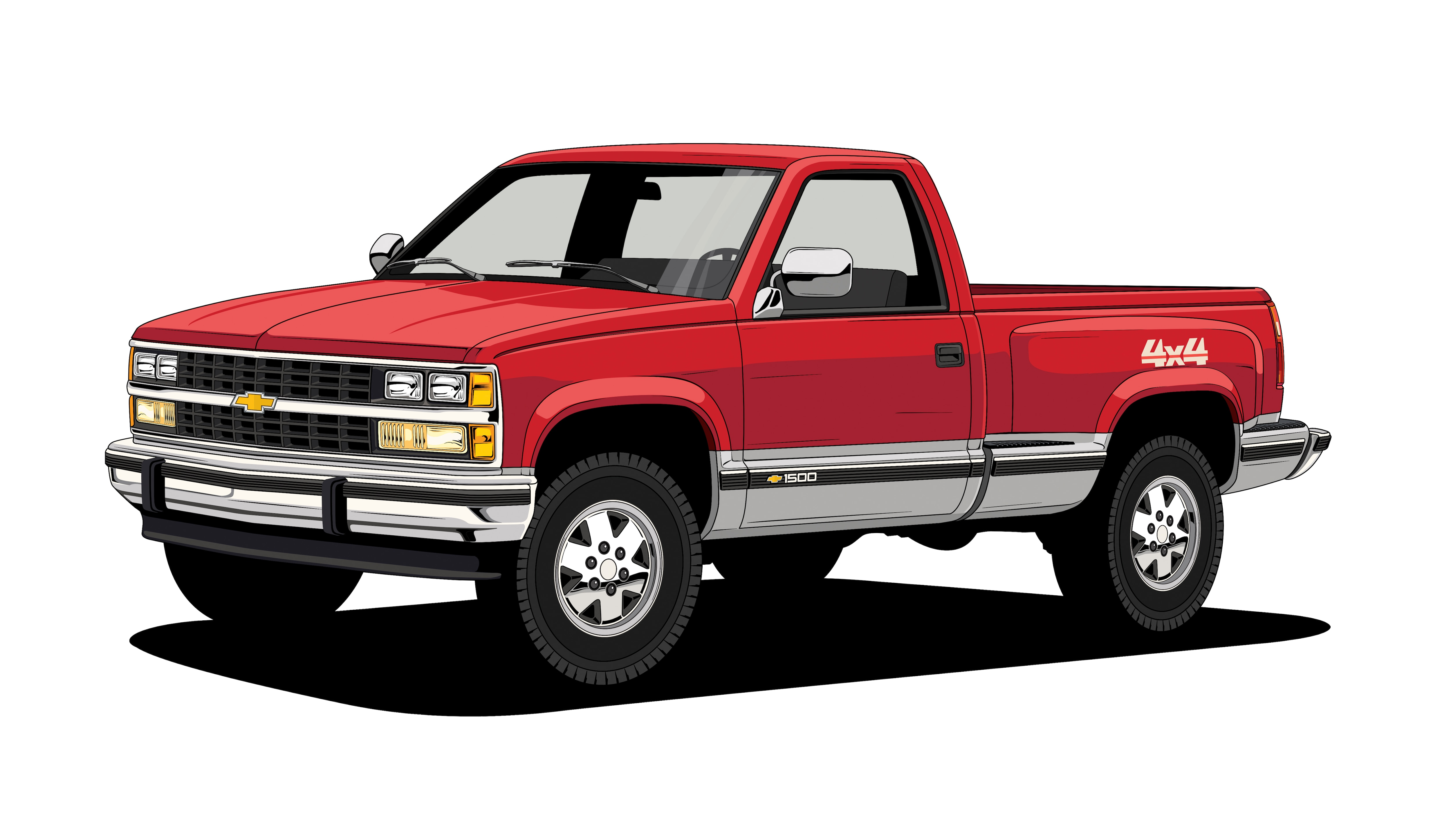 this is what a century of chevy trucks looks like automobile magazine. Black Bedroom Furniture Sets. Home Design Ideas