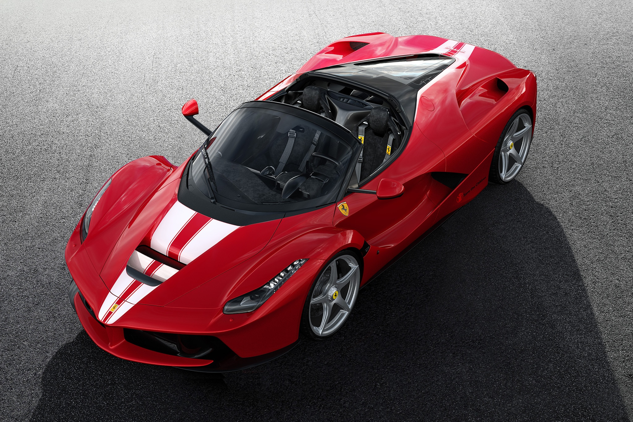 LaFerrari Aperta fetches record $12.4m at auction