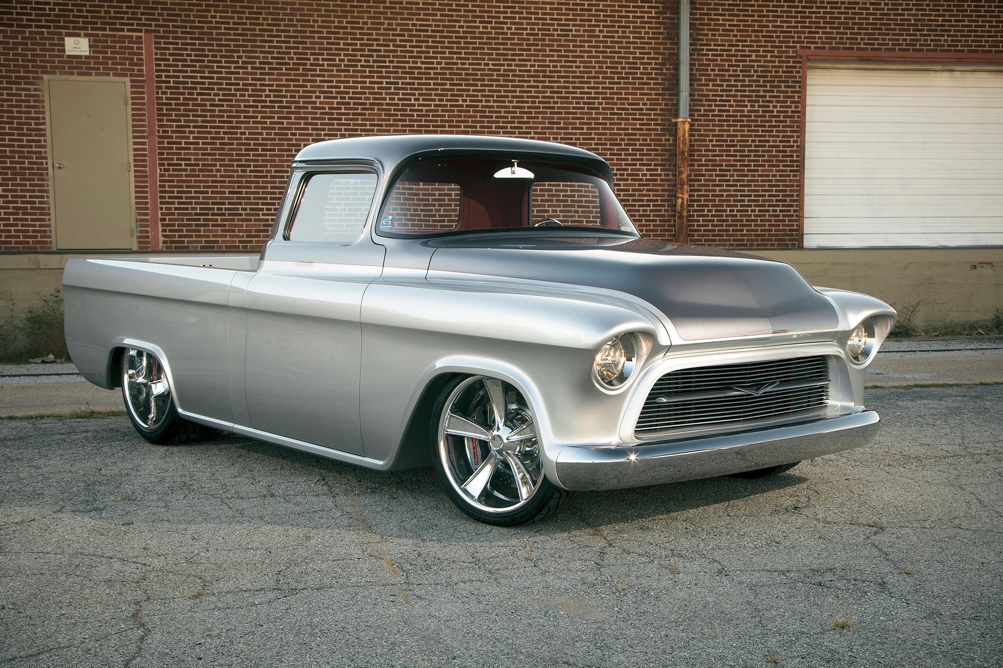 1957 Chevrolet 3100 Custom Barrett Jackson