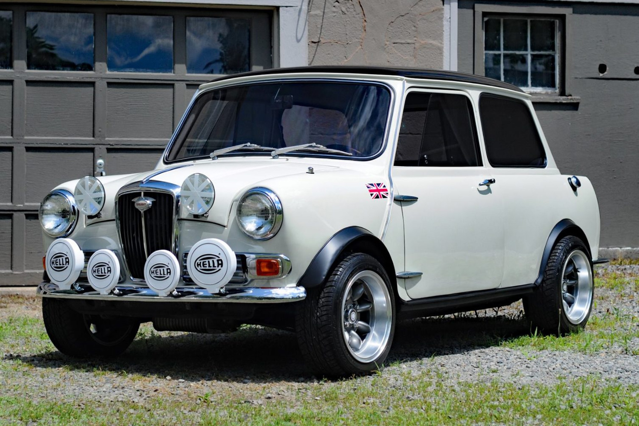 1966 Woseley Hornet Mk II Just Listed Front Three Quarters