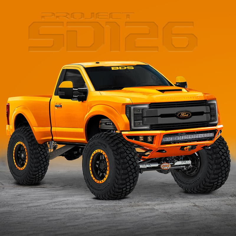 2017 Ford F250 Super Duty Regular Cab Transmission: Eight Wild And Crazy Ford F-Series Trucks At SEMA