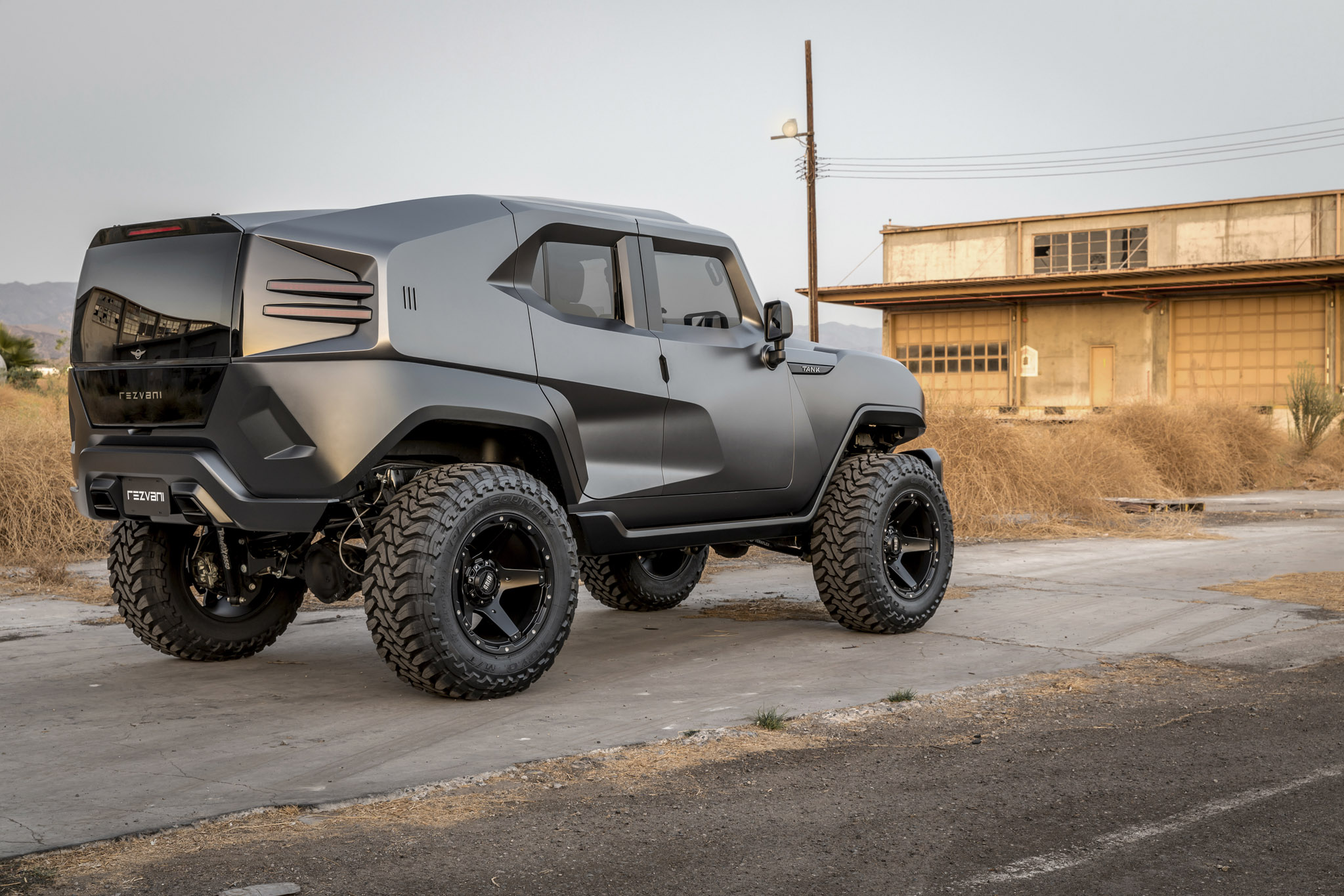 Rezvani Tank Rolls In With 500 Horsepower Automobile