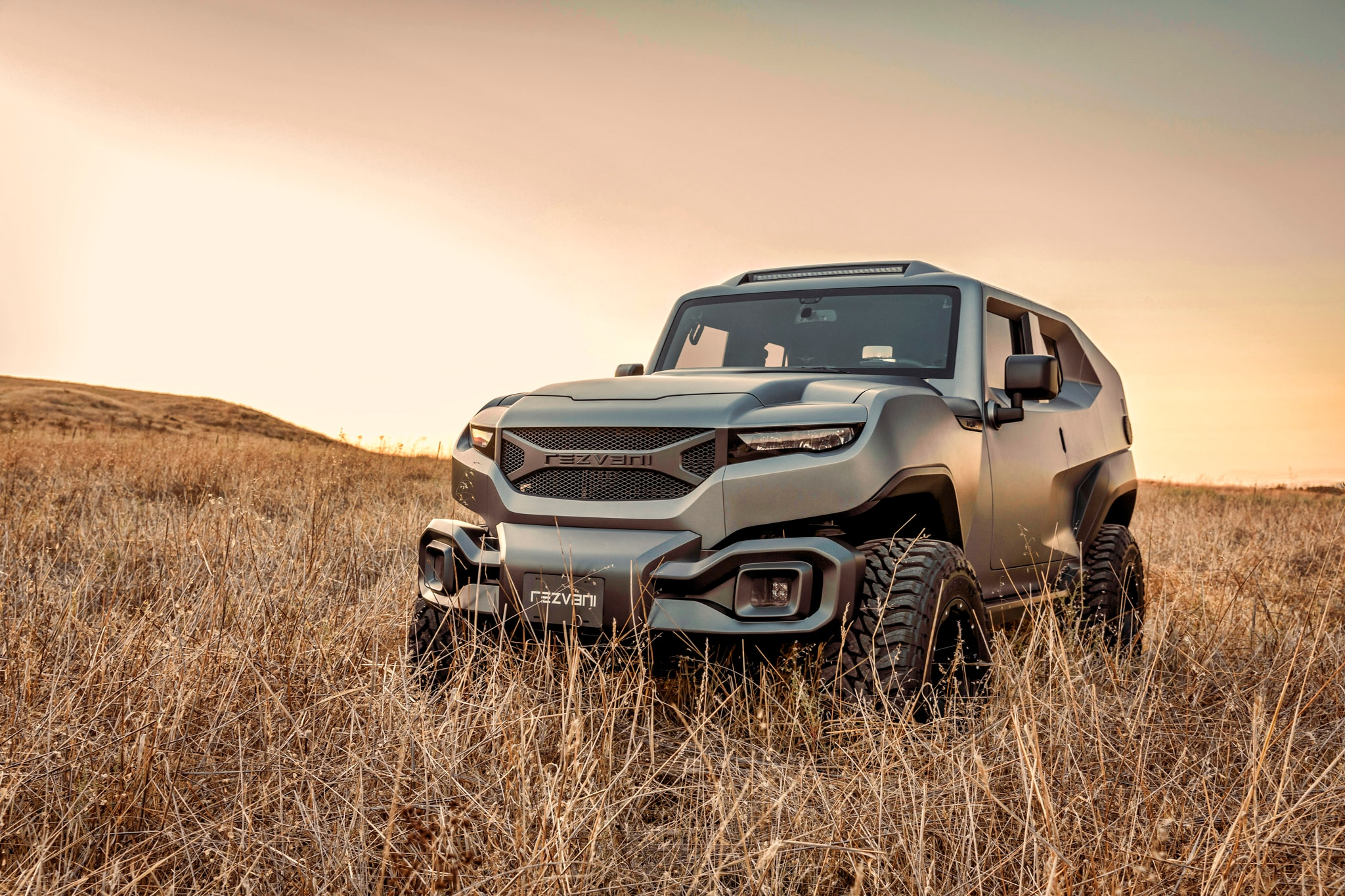 The Rezvani Tank: An Off-Road SUV Ready to Stop Bullets