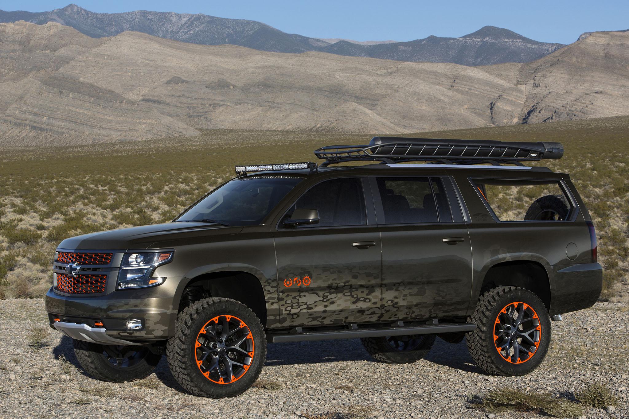 Country Star Luke Byran Tricks Out Chevrolet Suburban ...