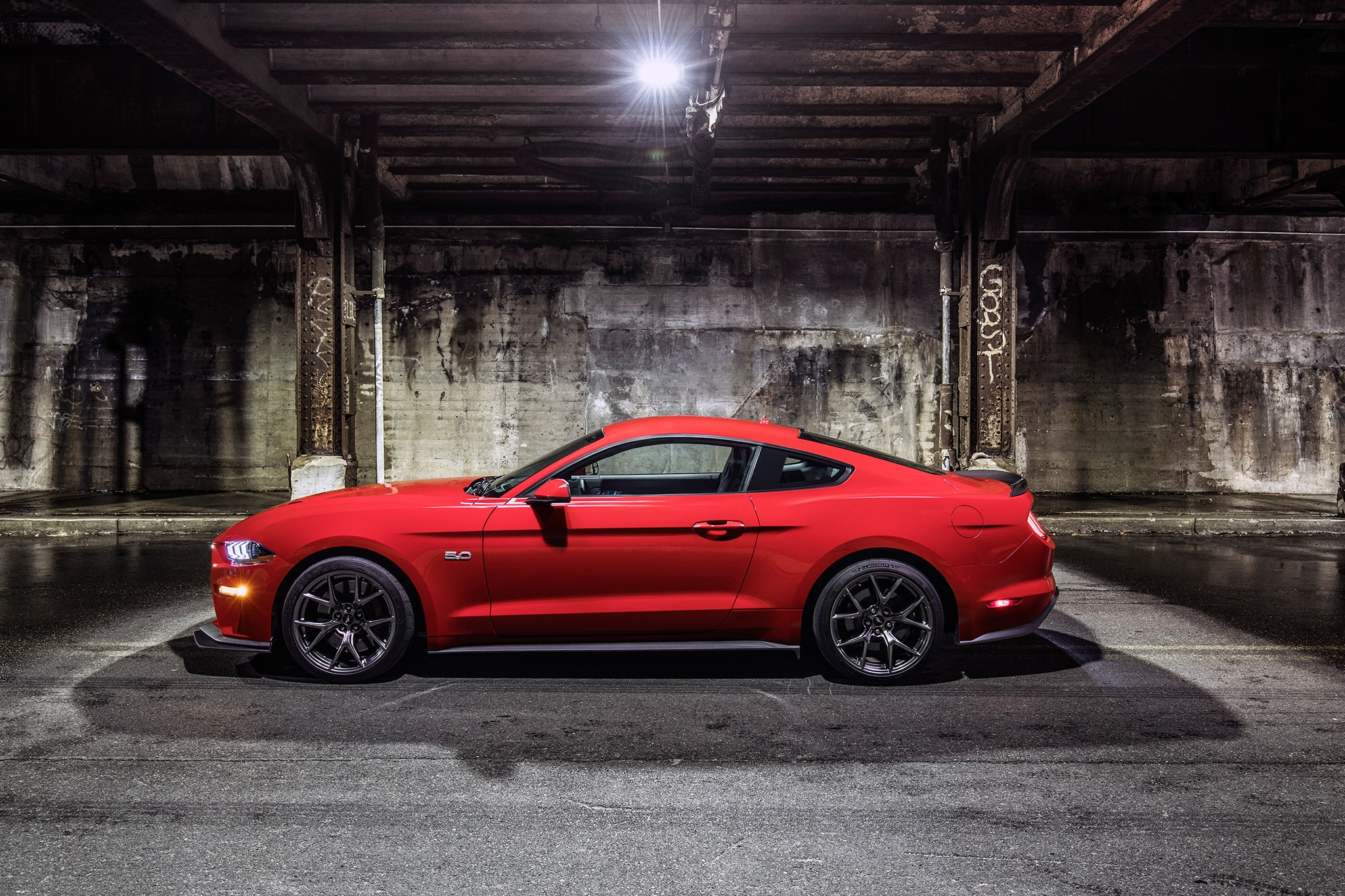 2018 Ford Mustang Performance Pack Level 2 Side Profile