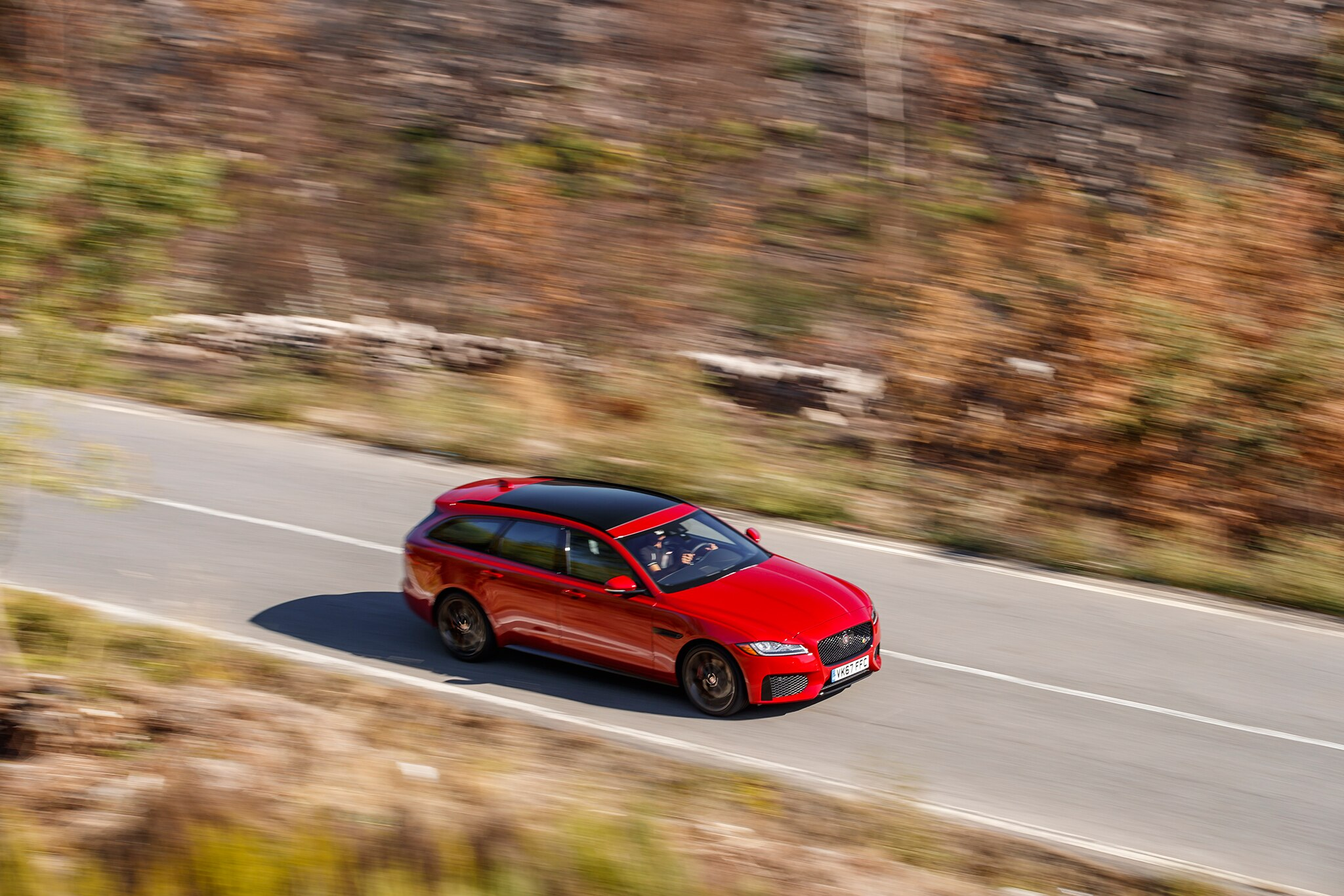 2018 jaguar wagon. plain 2018 one of the only overt visual links to taller fpace are xf sportbrakeu0027s  curved taillamps and tenuous connection is not a bad thing in 2018 jaguar wagon