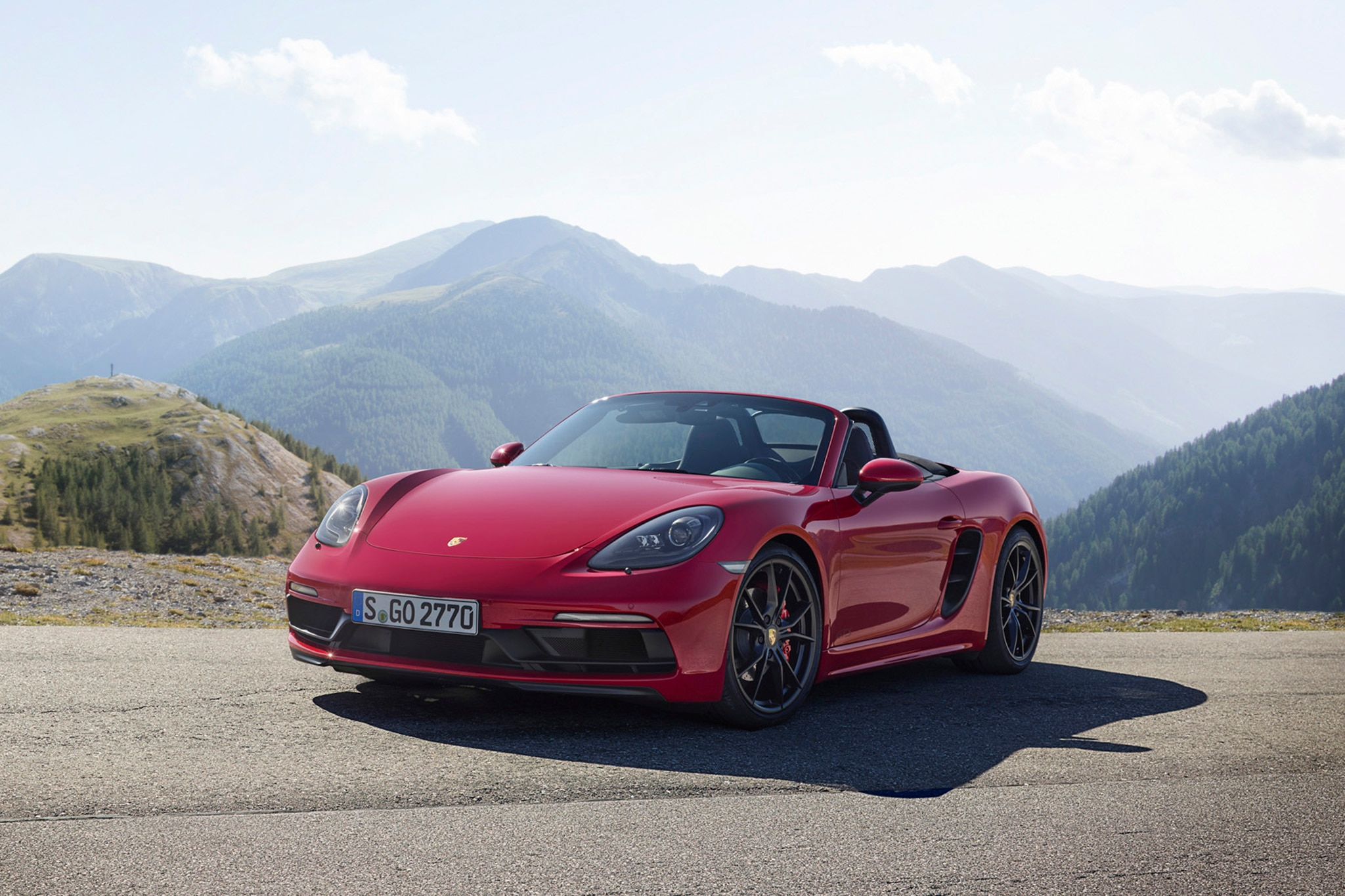 2018 porsche 718 cayman and boxster gts arrive with more power performance automobile magazine. Black Bedroom Furniture Sets. Home Design Ideas