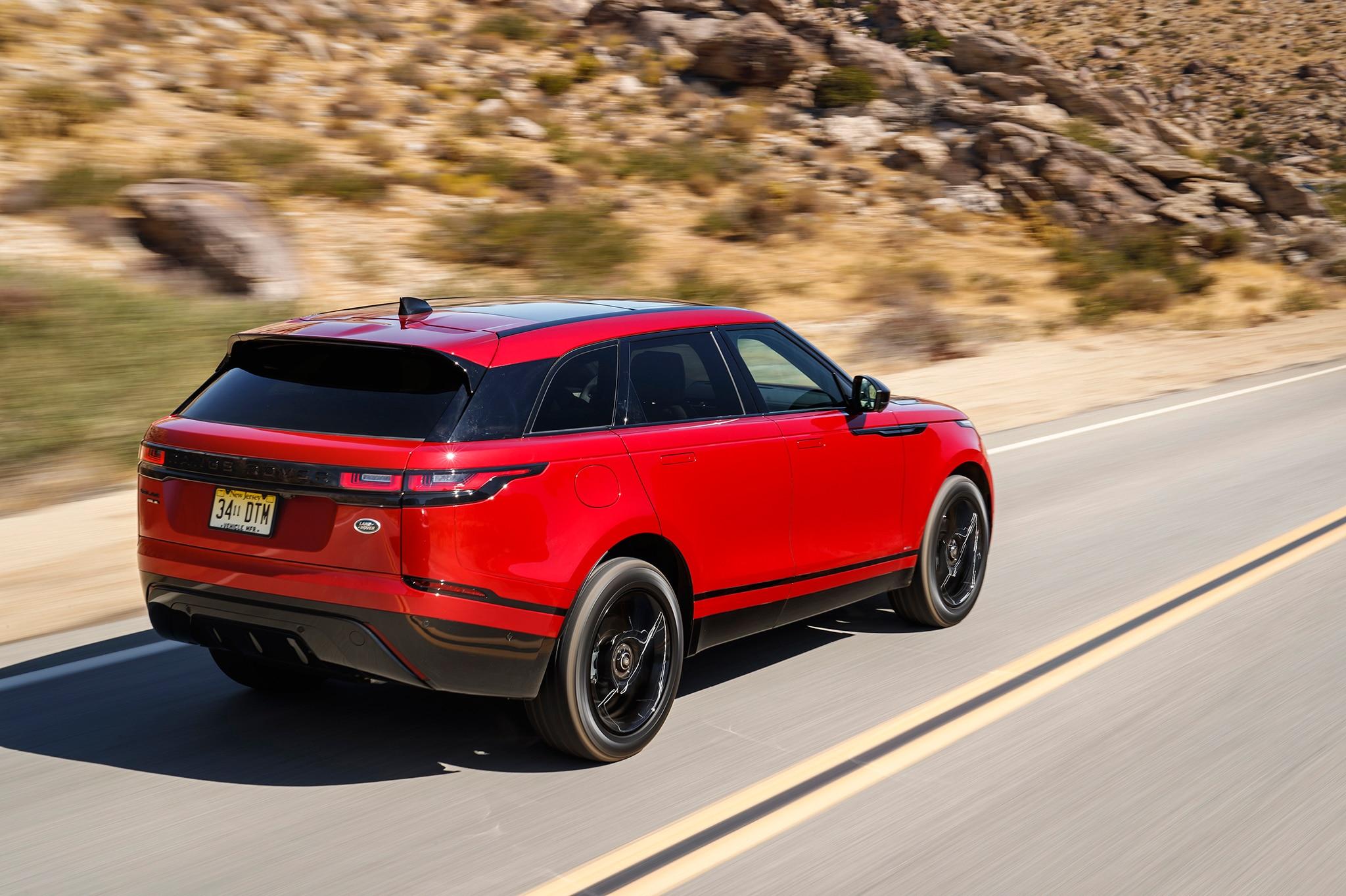 first drive 2018 range rover velar u s spec automobile magazine. Black Bedroom Furniture Sets. Home Design Ideas